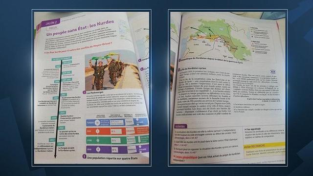 Terör örgütünü ders kitabına eklediler