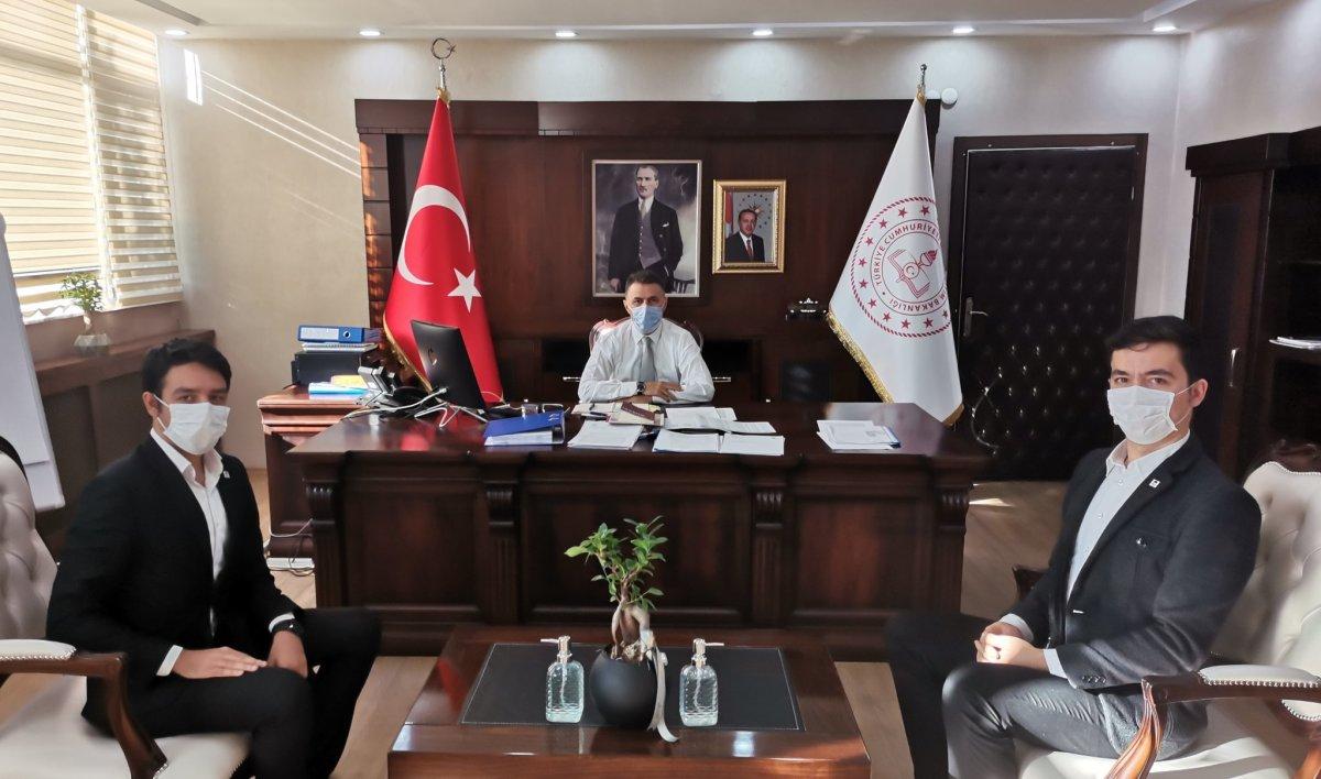 İl Milli Eğitim Müdürü Yüksel Arslan ile