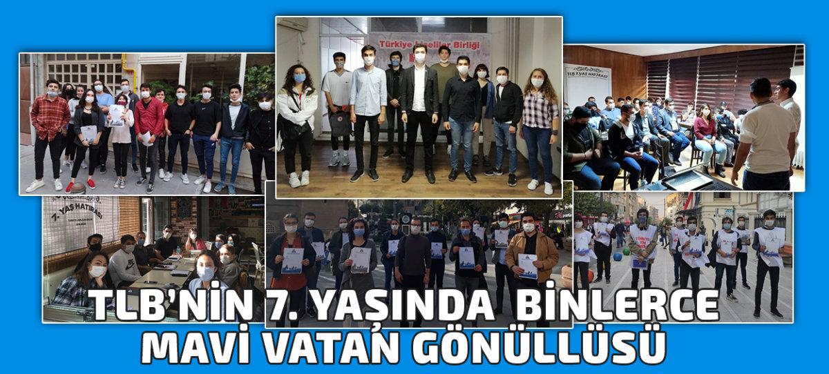 TLB'nin 7. Yaşında Binlerce Mavi Vatan Gönüllüsü