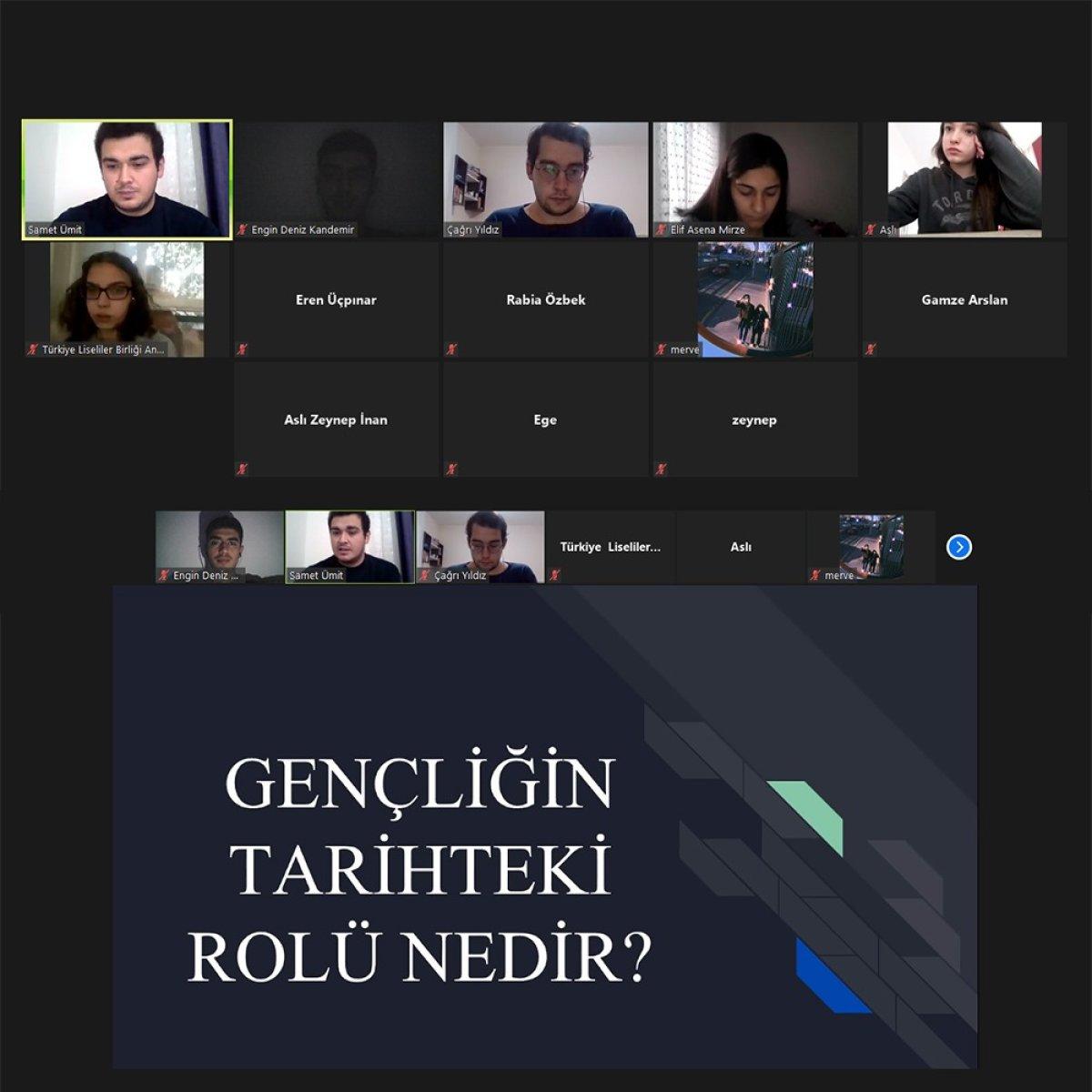 TLB Ankara ''Türkiye'de Gençlik Hareketi ve TGB- TLB Tarihi'' Eğitimi