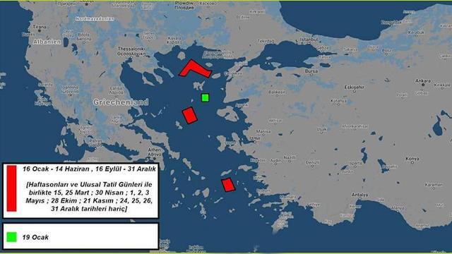 Yunanistan'a '200. yıl' hediyesi: Adalar Denizi'nde 9 aylık atış eğitimi