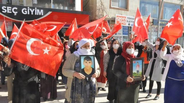 Şırnaklı kadınların HDP önündeki eyleminde 23'üncü hafta