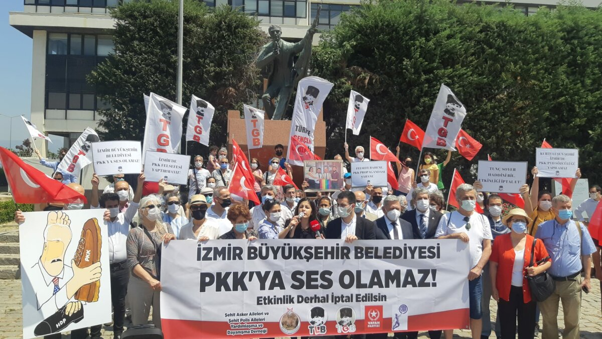 İzmir Büyükşehir Belediyesi PKK'ya Ses Olamaz