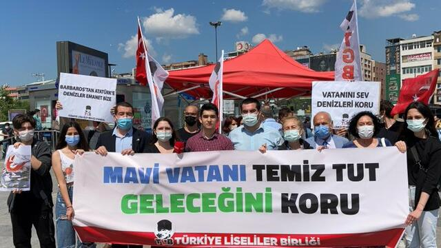 TLB'den çağrı: 'Mavi Vatanımızı temiz tutalım, geleceğini koruyalım!'