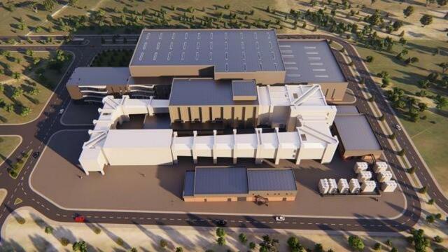 Türkiye'nin en büyük rüzgar tüneli tesisinin yapımı sürüyor