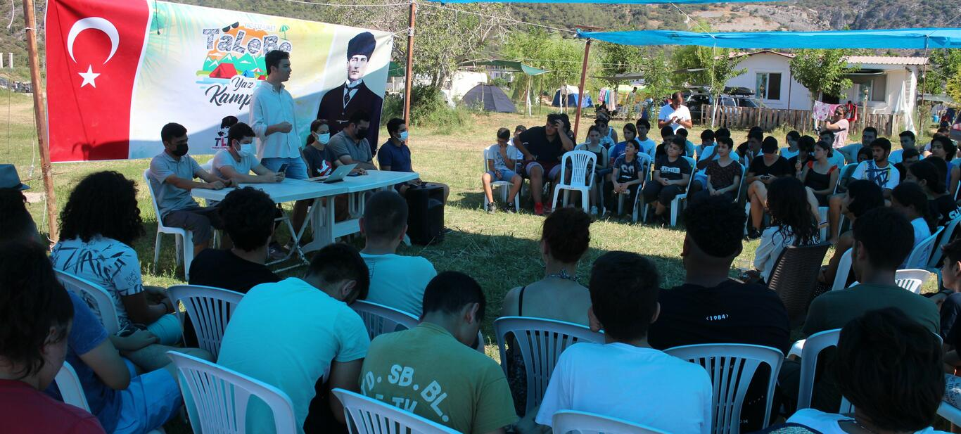 Geleceğin Önderleri TaLeBe Yaz Kamplarında Yetişiyor